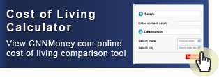 View the CNNMoney.com online cost of living comparison tool