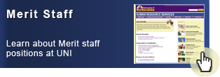 Learn about Merit staff positions at UNI
