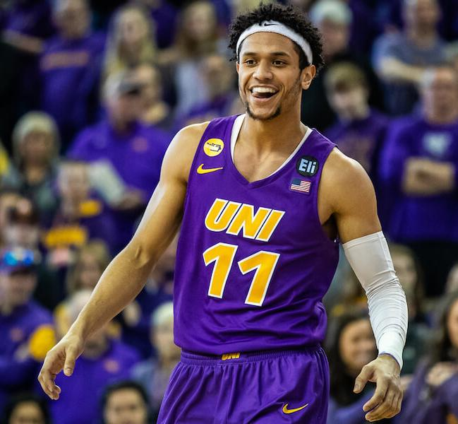 University of Northern Iowa mens basketball player