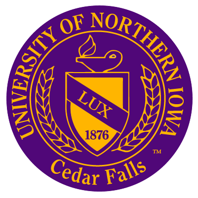 University of Northern Iowa President's Seal