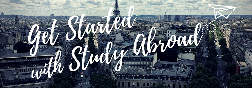 Get Started with study abroad