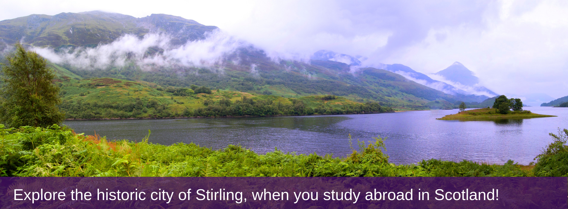 Explore the historic city of Stirling, when you study abroad in Scotland!