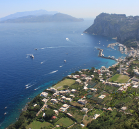 From the island of Capri