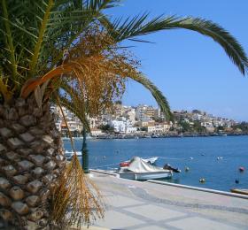 Shoreline view on Crete