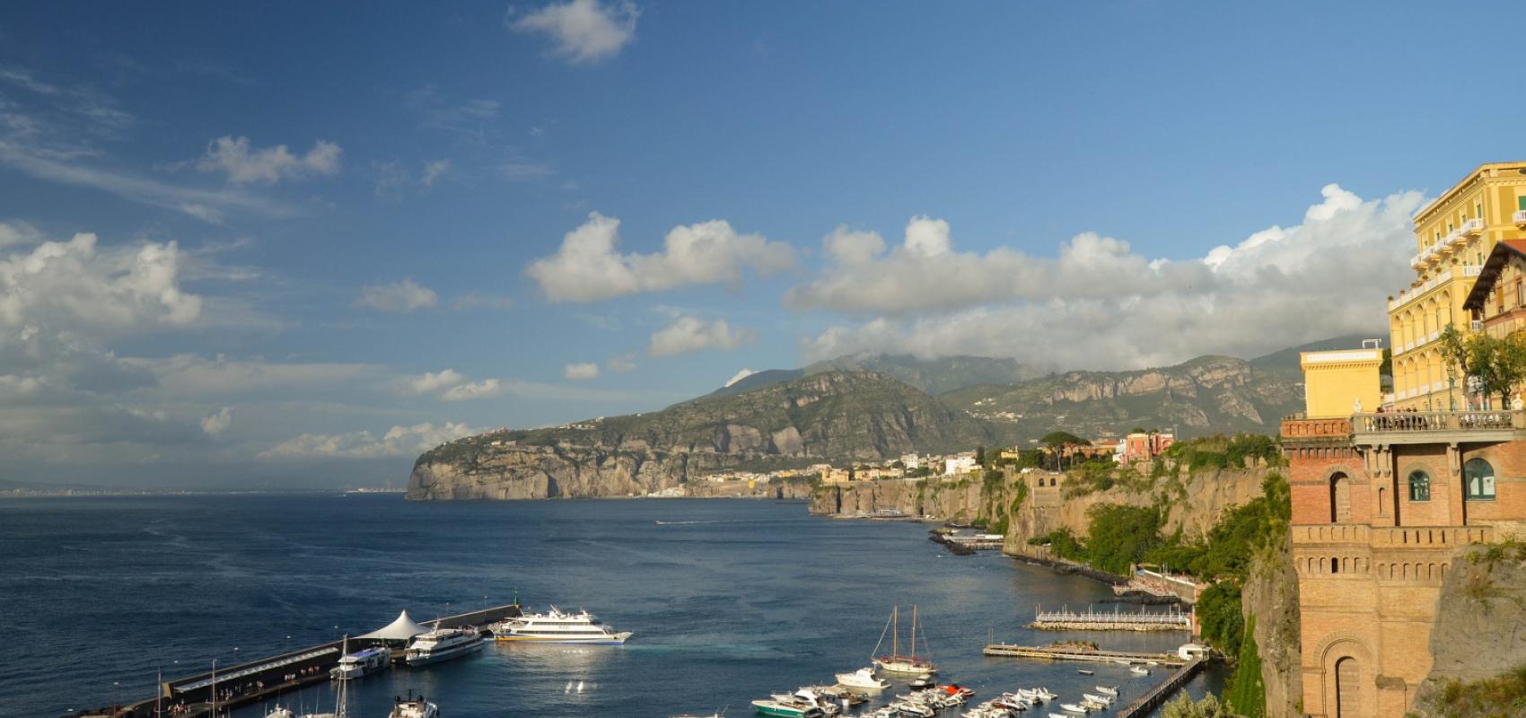 Sorrento coastline